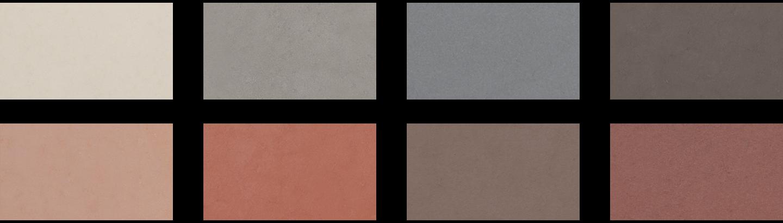 Nuvolato Architop® colours